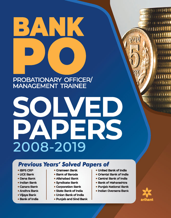 Solved Papers Bank PO 2020