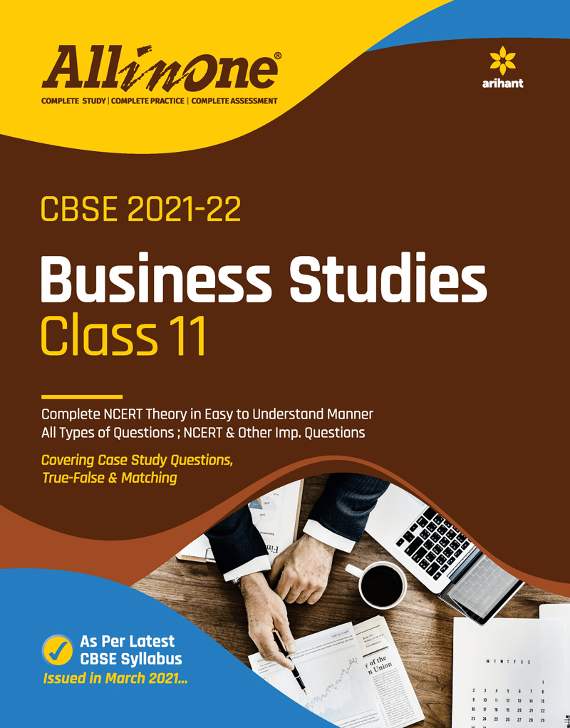 CBSE All In One Business Studies Class 11 for 2022 Exam