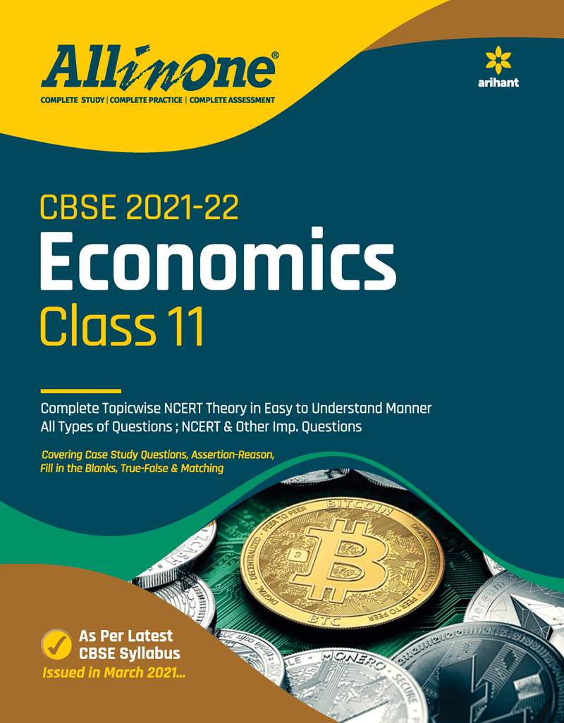 CBSE All In One Economics Class 11 for 2022 Exam